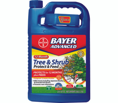 SBM Life Science 701915A Tree and Shrub Protect and Feed, Liquid, 1 Gal