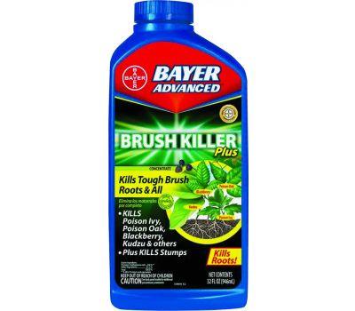 SBM Life Science 704640B Brush Killer, Liquid, Clear, 32 Ounce Bottle