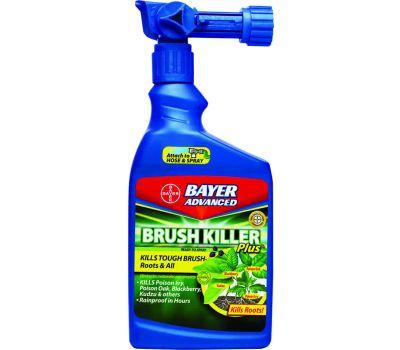 SBM Life Science 704645A Brush Killer, Liquid, Clear, 32 Ounce Bottle