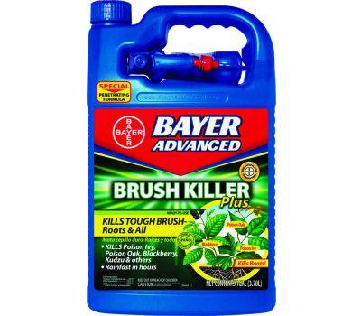 SBM Life Science 704655A Brush Killer, Liquid, Light Yellow, 1 Gal Bottle
