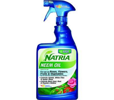 SBM Life Science 706250A Neem Oil, Liquid, Spray Application, 24 Ounce Can