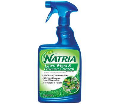 SBM Life Science 706400D/706400A Natria Ready-to-Spray Weed Killer, Liquid, Spray Application, 24 Ounce Bottle