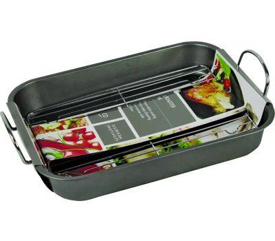 Dura Kleen EW553 Euro-Ware Roaster, 14.6 in L, 11.4 in W, 2.3 in H
