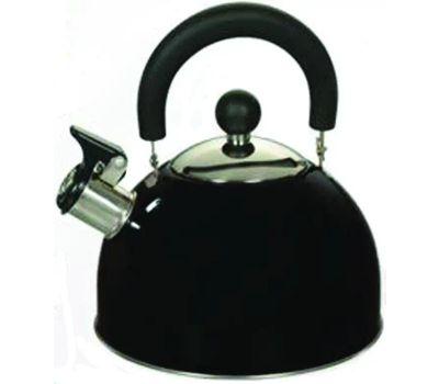 Dura Kleen 309-BK Euro-Home Kettle Tea Whstle Blk Ss 2.5qt