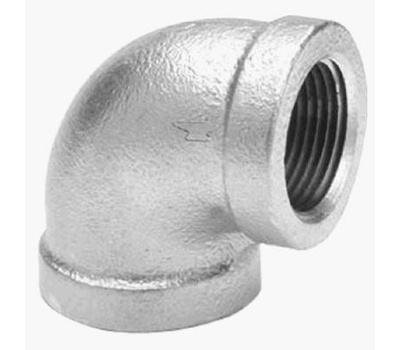 Anvil 8700125852 2 By 1-1/2 Inch Galvanized Reducing Elbow