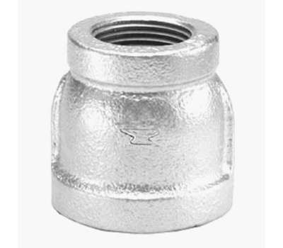Anvil 8700135455 1 By 1/2 Inch Galvanized Coupling
