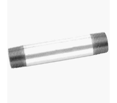 Anvil 8700153201 1-1/4 By 6 Inch Galvanized Nipple