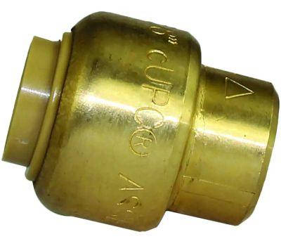 Cash Acme U512LFA Sharkbite Plug Push Fit 3/8in