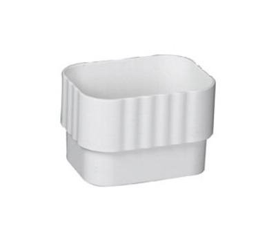 Amerimax M0723 Downspout Connector 3 By 4 Inch White