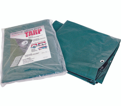 ProSource T1020GS140 Heavy Duty Green And Silver Tarp 10 By 20 Foot