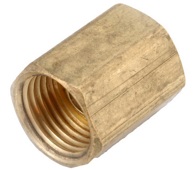Anderson Metal 54342-06 3/8 Inch Inverted Flare Union