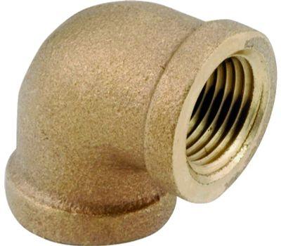 Anderson Metal 738100-02 Elbow Brass 90deg Ipt 1/8
