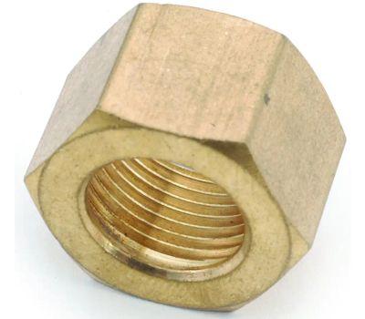 Anderson Metal 750061-14 Compression Nut, Brass