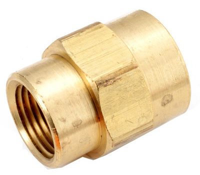 Anderson Metal 756119-0604 3/8x1/4brs Red Coupling