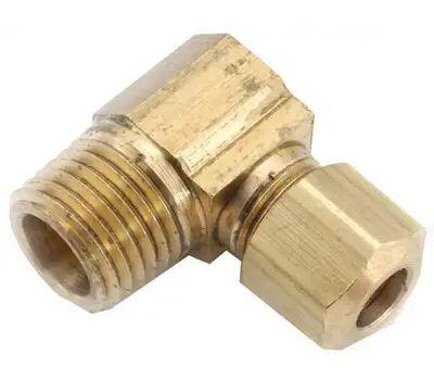 Anderson Metal 710069-0402 1/4cmpx1/8mpt Elbow