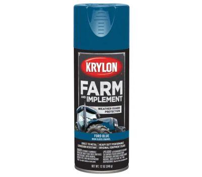 Krylon K01936000 Farm & Implement Ford Blue Spray Paint 12 Ounce