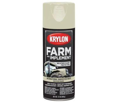 Krylon K01945000 Farm & Implement International Harvester White Spray Paint 12 Ounce