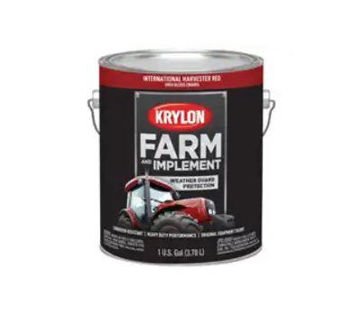 Krylon K01964000 Farm & Implement Paint International Harvester Red Gallon