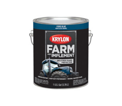 Krylon K01967000 Farm & Implement Paint Ford Blue Gallon