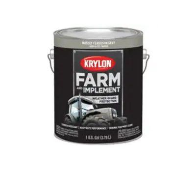 Krylon K01969000 Farm & Implement Paint Massey Ferguson Gray Gallon