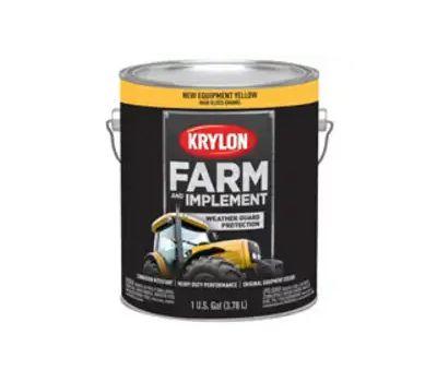 Krylon K01974000 Farm & Implement Paint New Equipment Yellow Gallon