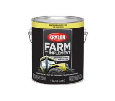 Krylon K01975000 Farm & Implement Paint New Holland Yellow Gallon
