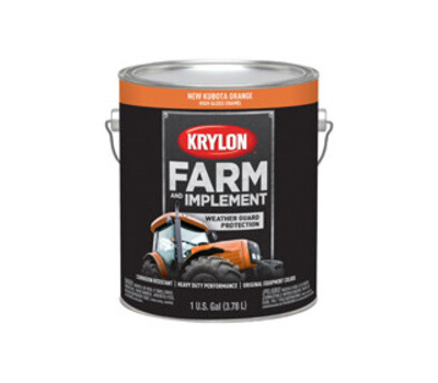 Krylon K01986000 Farm & Implement Paint New Kubota Orange Gallon