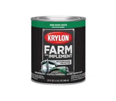 Krylon K02023000 Farm & Implement Paint John Deere Green Quart