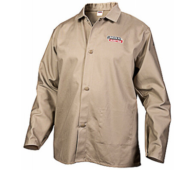 Lincoln Electric KH841L Lg Khaki Welding Shirt