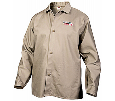 Lincoln Electric KH841XL Xl Khaki Welding Shirt