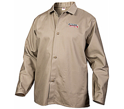 Lincoln Electric KH841XXL 2xl Khaki Welding Shirt