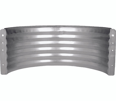 Marshall Stamping AWR12/680 12 Inch Standard Area Wall Galvanized