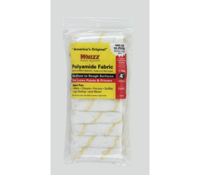 Whizz 25001 Maximus 4 Inch 1/2 Inch Gold Stripe Covered End Covers 10 Pack Plus 1 Handle