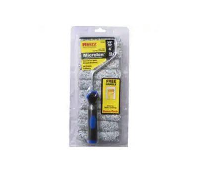 Whizz 27009F Mini Roller, 3/8 in Nap, Microlon Roller