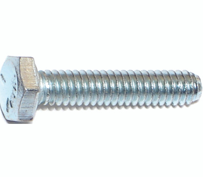 Midwest Fastener 00255 Grade 5 Hex Cap Screws 1/4 Inch 20 TPI By 1-1/4 Inch Zinc Plated Steel 100 Pack
