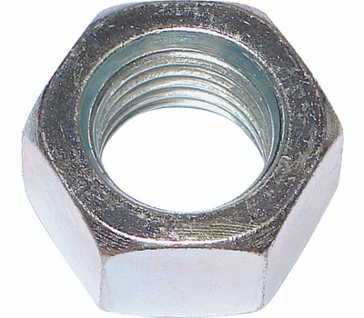 Midwest Fastener 03673 Hex Nuts 7/16 Inch 14 TPI Zinc Plated Steel 50 Pack