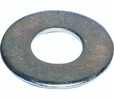Midwest Fastener 03839 Flat Washers 7/16 Inch Zinc Plated Steel 5 Pounds