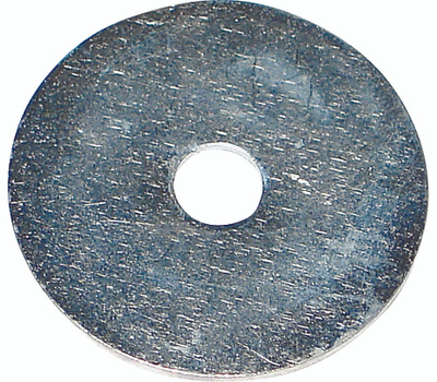 Midwest Fastener 03929 Fender Washers 1/4 By 1-1/4 Inch Zinc Plated Steel 100 Pack