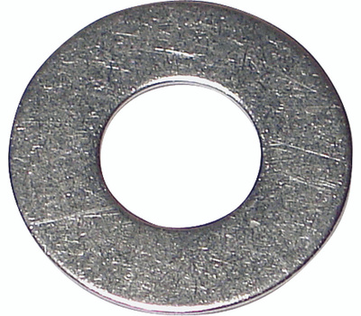 Midwest Fastener 05320 Flat Washers #6 Stainless Steel 100 Pack