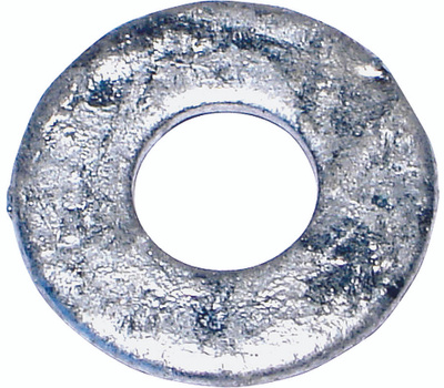 Midwest Fastener 05625 Flat Washers 1/4 Inch Galvanized Flat Washer 5 Pounds