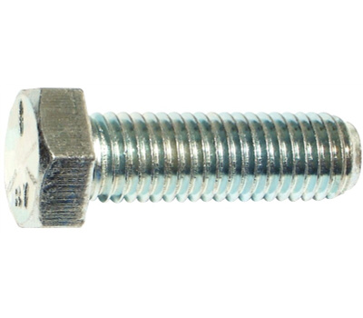 Midwest Fastener 53388 Grade 5 Hex Cap Screws 5/8 Inch 11 TPI By 2 Inch Zinc Plated Steel 15 Pack