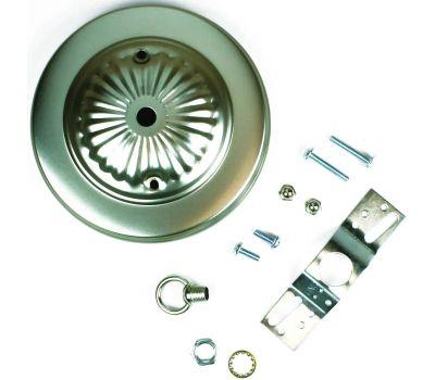Jandorf 60216 5 Inch Light Fixture Canopy Kit Brushed Pewter