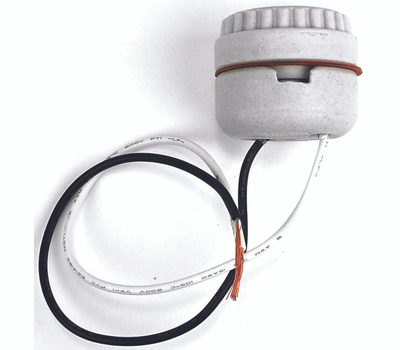 Jandorf 60577 Porcelain Lampholder Socket Two-Piece Medium Base With Wire Leads