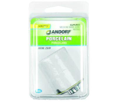 Jandorf 60582 Socket Porcelain 3-Way Keyless