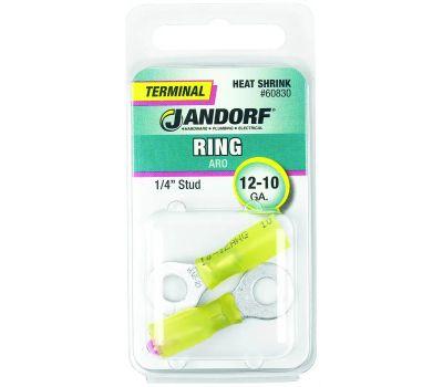 Jandorf 60830 Ring Heat Shrink 1/4 Inch Stud Wire Gauge 12-10