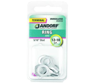 Jandorf 60838 Ring Uninsulated 5/16 Inch Stud Wire Gauge 12-10