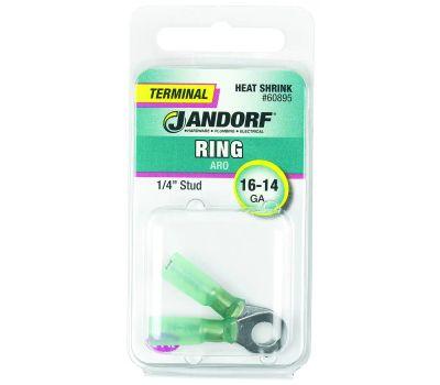 Jandorf 60895 Terminal Ring 16-14 Heat Shrink 1/4