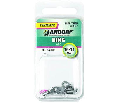 Jandorf 60897 Terminal Ring 16-14 High Temperature N6