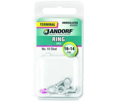 Jandorf 60901 Terminal Ring 16-14 Uninsulated N10