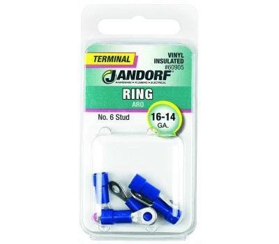 Jandorf 60905 Terminal Ring 16-14 Vinyl Insulated N6
